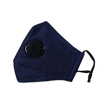 1 + 6 Filtro De Algodón Niño Adulto Pm2.5 Anti Niebla Máscara De Respiración Válvula Anti-polvo De La Máscara De La Boca De Carbono Activado Respirador De Filtro Máscara