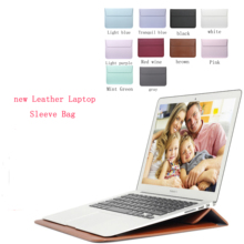 new Laptop Leather Sleeve Bag Case For Apple Macbook Air,Pro,Retina,11,12,13,15 inch laptop Bag. New Air 13.3 Pro