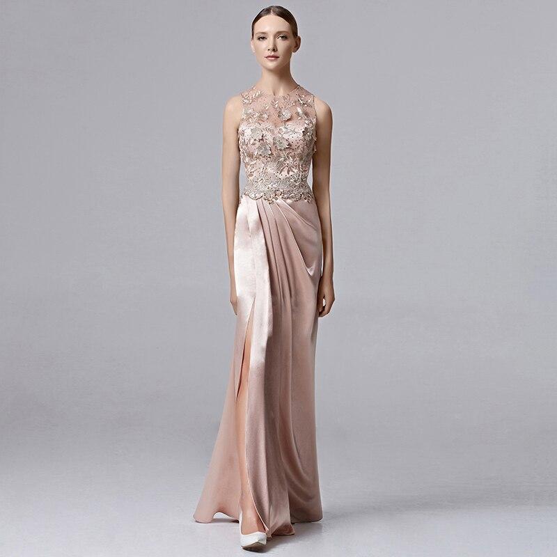Coniefox atractivo sin mangas acanalada vestido de noche vestido de gala vestido