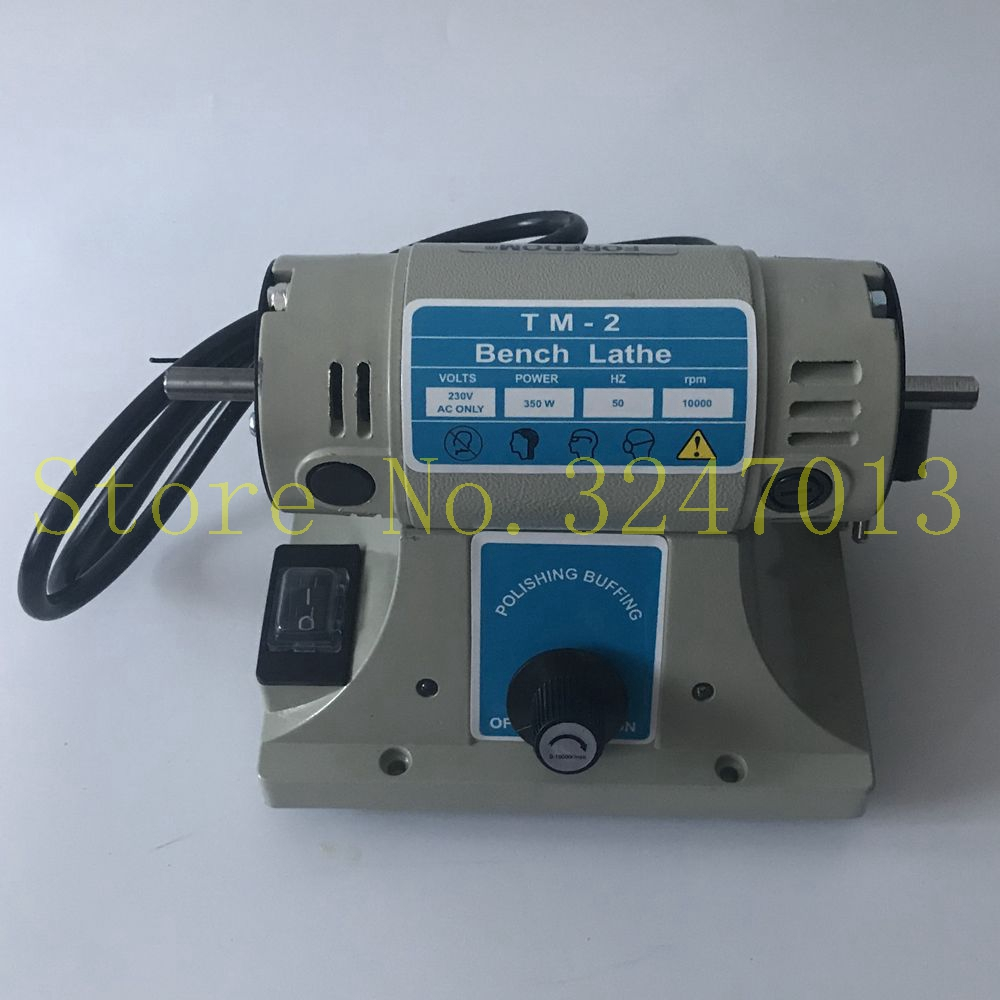 220V Electric Grinder Polishing Machine For Jewelry Lathe Motor