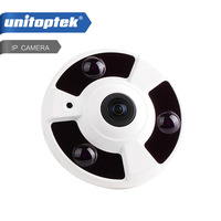 HD 720P Fisheye IP Camera 1 0MP 120 Degree Fisheye Lens Security CCTV Camera Night Vision