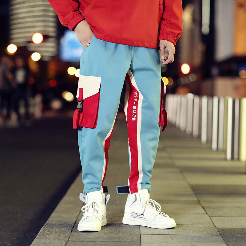 Cool Cargo Pants Men Casual Hip Hop Fashion (3)