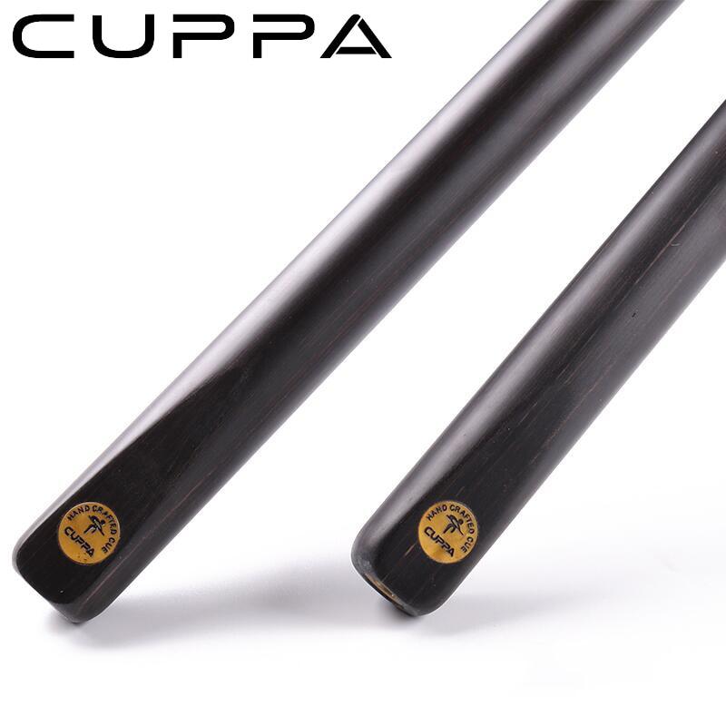 Queue de billard panthère noire Cuppa une pièce queue de billard 9.8mm11.5mm pointe Billar professionnel avec une excellente Extension et étui