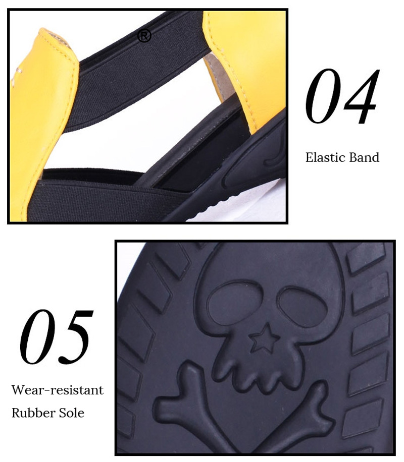 Summer Sandals Women 2018 Lady Yellow Red Shoes Woman Platform Flats Shoes Causal Rhinestone Sandals Roma Female Gladiator Shoes (10)