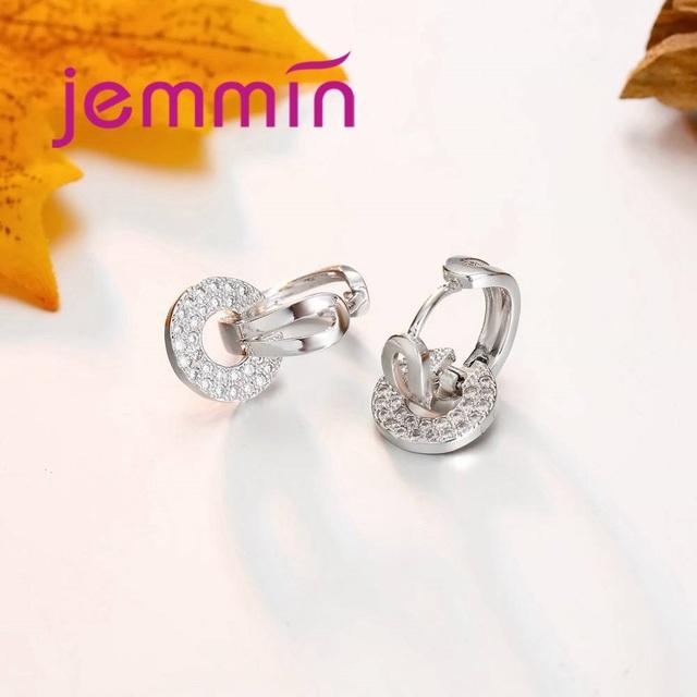 Jemmin DIY Earring Findings Earrings Clasps Hooks Fittings DIY Jewelry Making Accessories 925 Sterling Silver Earwire Jewelry