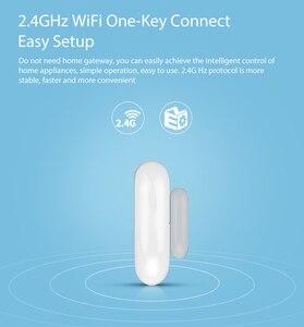 Image 3 - Tuya smart Wifi Door Window Sensor App Notification Alerts No Hub Required Tuya Smart Home security System Phone Alarm