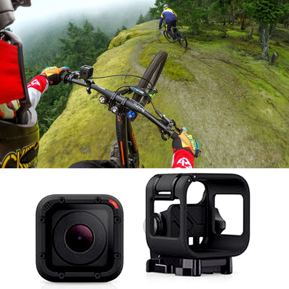 For Gopro Accessories Standard Protective Frame Case For Gopro Hero 4 Session Motion Sports Camera Mount Frame Case in Sports Camcorder Cases from Consumer Electronics