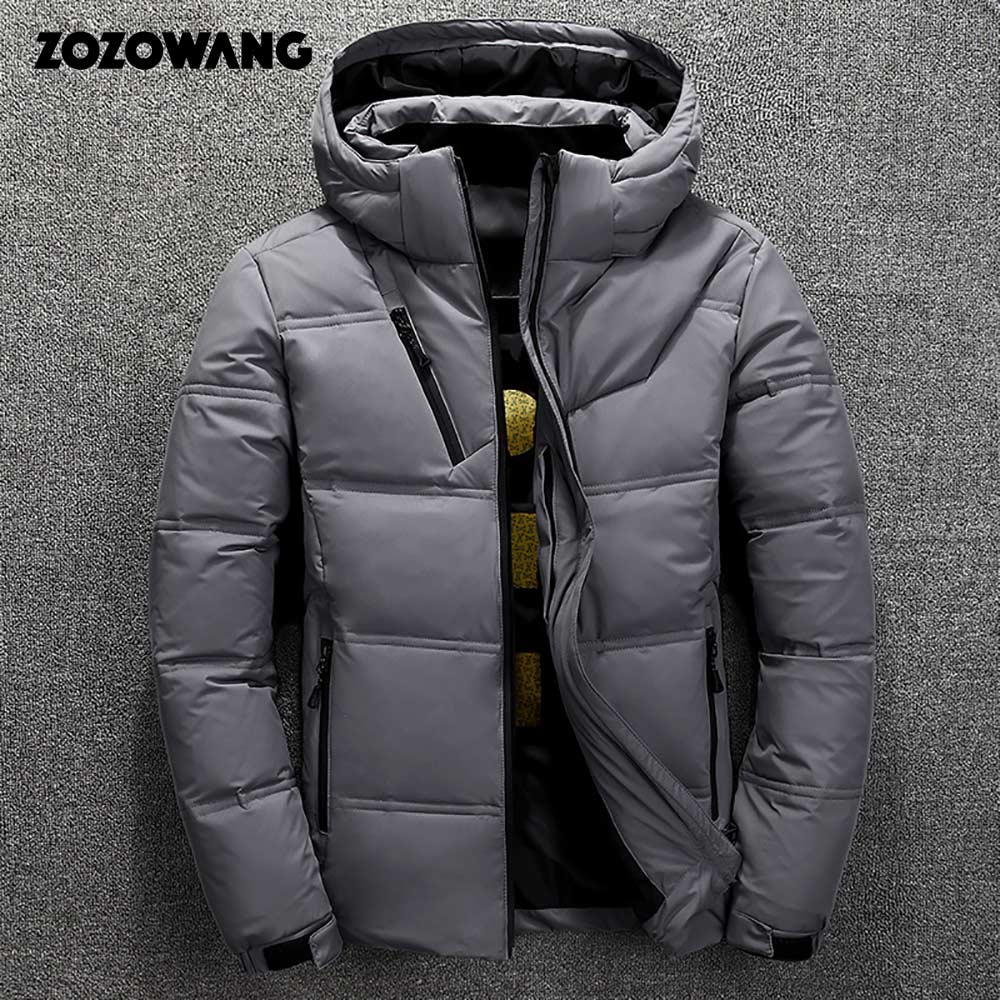 Image 4 - ZOZOWANG High Quality White Duck Thick Down Jacket men coat Snow parkas male Warm Brand Clothing winter Down Jacket Outerwear-in Parkas from Men's Clothing