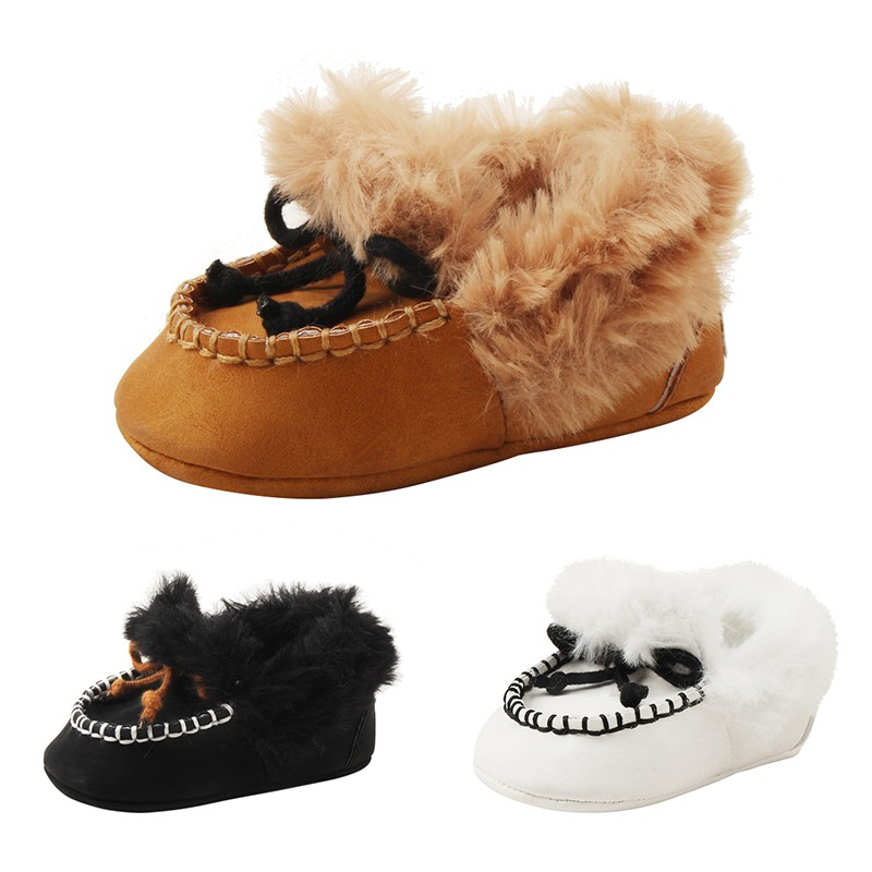 Baby Boys Girls Shoes Winter Keep Warm First Walkers Sneakers Kids Crib Bebe Infant Toddler Casual Prewalkers Shoes