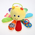 Baby Newborn Infant Cute Octopus Handbell Teether Developmental Bell Toy AO#P