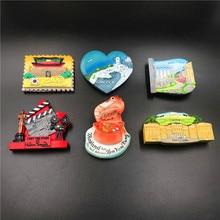 Refrigerator stickers tourism souvenirs refrigerator fridge magnet souvenir resin magnetic three-dimensional  commemor