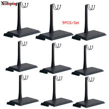 9PCS 1/6 Scale KUMIK Adjustable U-Shape Square platform Bracket Display Stand Inscription Model F 12 Inch Hottoys Action Figure