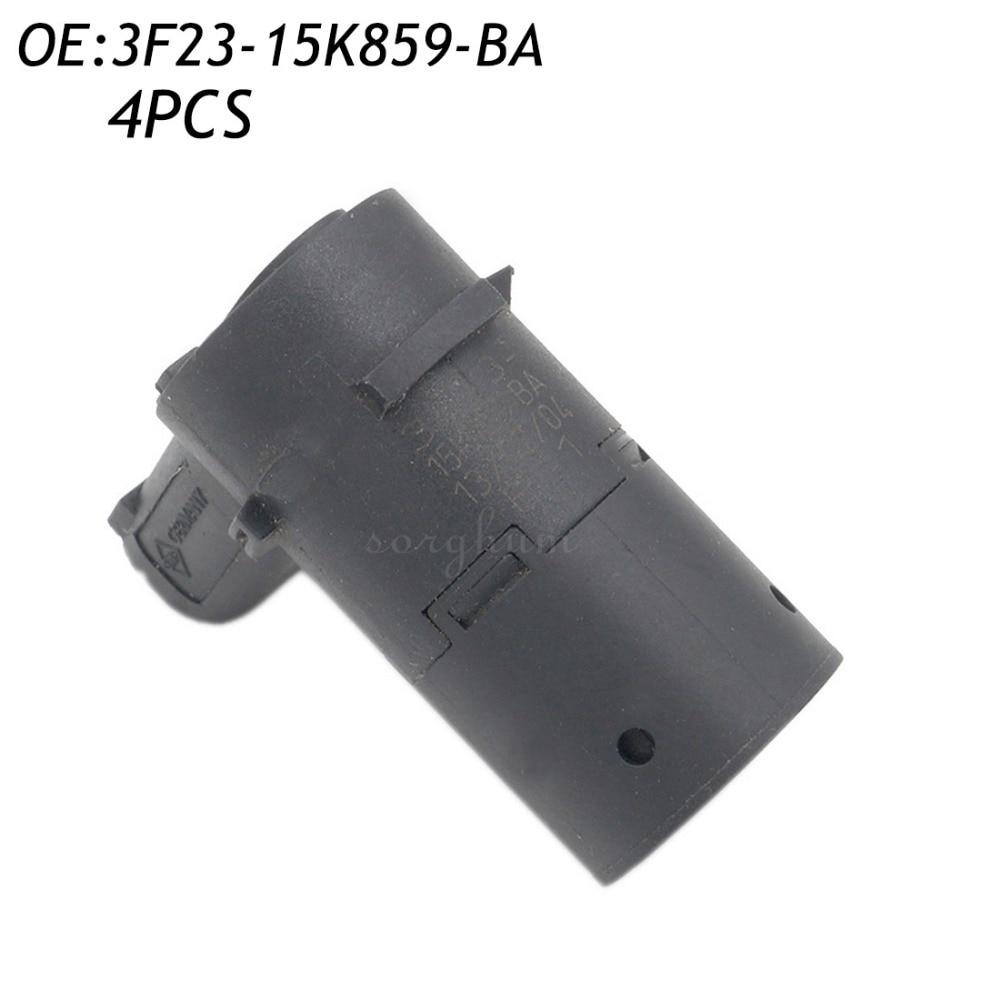 4 UNIDS 3F23-15K859-BA PDC Sensor de Aparcamiento Por Ultrasonidos Para Ford F25