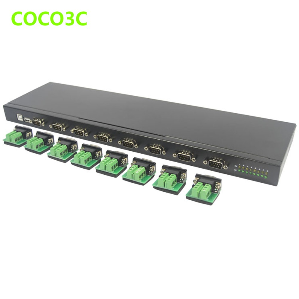 Usb to 8 ports rs485 rs422 converter box hub multiplier serial pda usb to 8 ports rs485 rs422 converter box hub multiplier serial pda 9pin port cable adapter in add on cards from computer office on aliexpress sciox Gallery