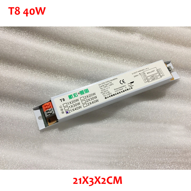 220 240V AC 40W T8 Wide Voltage T8 Electronic Ballast Fluorescent Lamp  Ballasts 50/