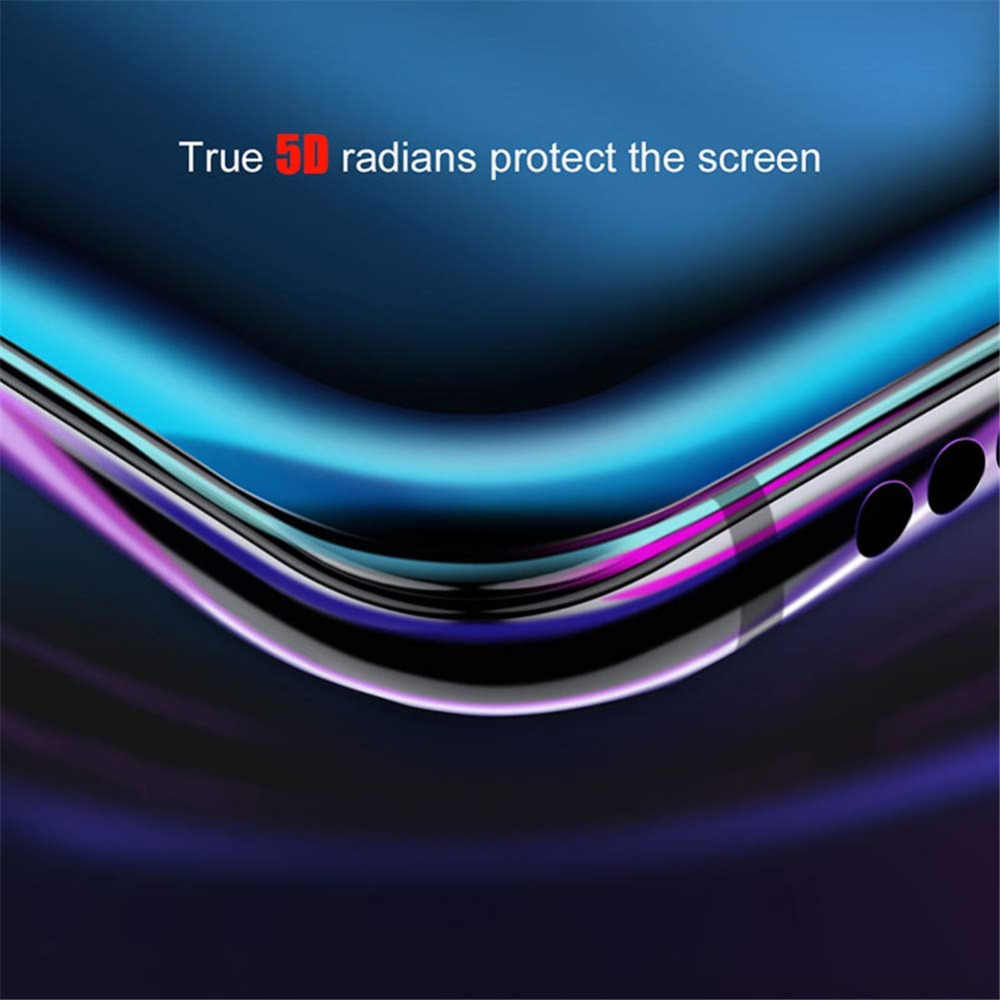 Portefeuille 5D Tempered Glass Full Cover Screen Protector Case For iPhone XS Max X 8 Plus 6 6S 7 XR XSMax Phone Accessories
