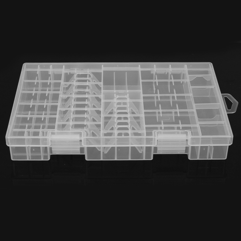Plastic Battery Box Storage Case Holder Organizer Auxiliary Accessaries New