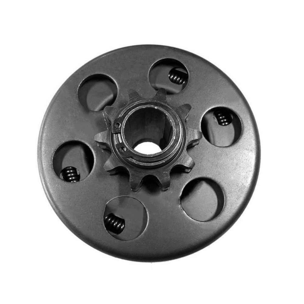 Kart Clutch 10 Teeth with 40//41//420 Chain Durable Centrifugal Clutch 3//4 Bore 3//16 Key Built In for Go-Kart Bike Engine Color:black