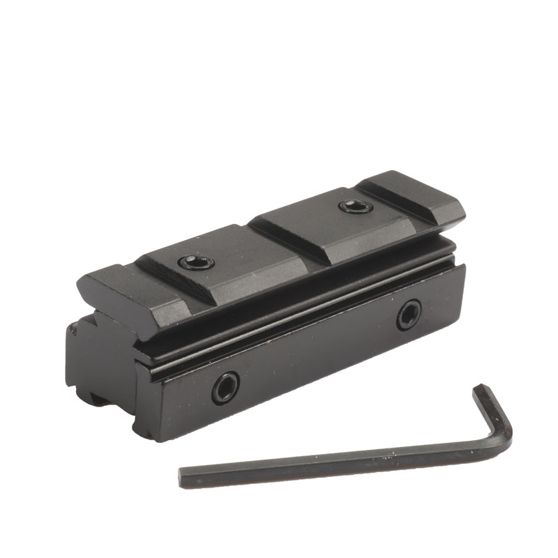 1PC Scope Riser Adapter Converter 11mm To 20mm Weaver Picatinny Rail Scope Mount Rifle Hunting Caze Accessories Black