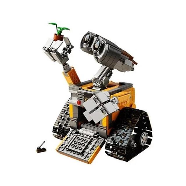 Lepin 16003 Idea Robot WALL-E Wall-e 687 unids de Construcción Bloques de Construcción de Ladrillos de Juguetes para Niños Regalos de Cumpleaños Con Manual