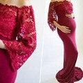 Беременности и родам Подставки для фотографий длинное кружевное платье для беременных для фотосессии Беременность платье фон для фотосъем...