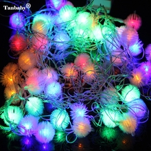 Tanbaby 4 M 20 LEDs 220 V waterdichte outdoor RGB LED string lights Christmas Light vakantie bruiloft verjaardagsfeestje decotation(China)