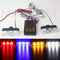 2x3 led Ambulance Police light Car Truck Emergency Light Flashing Firemen Lights DC 12V Strobe Warning light