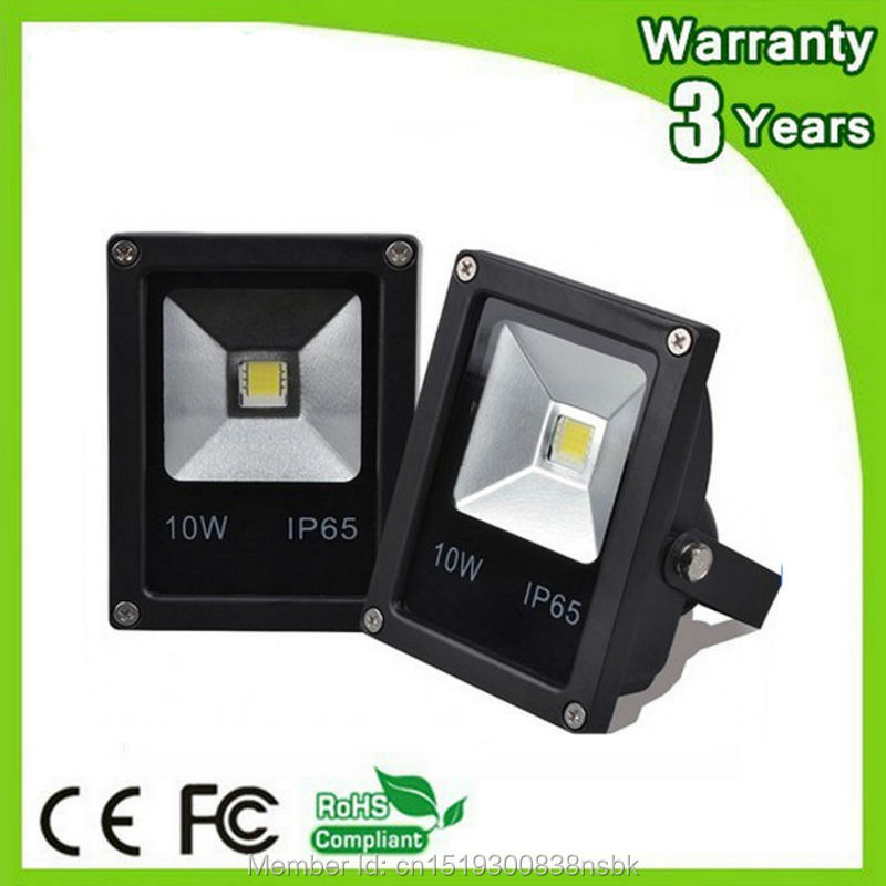 (12PCS/Lot) Epistar Chip 3 Years Warranty 10W LED Flood Light LED Floodlight Spot Tunnel Lighting Bulb Outdoor