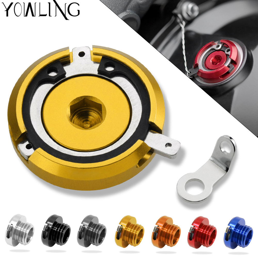 motorcycle magnetic engine oil filler cap FOR YAMAHA T-MAX500 MAX500 T-MAX530 TMAX530 TMAX 500 530 mto9 mt-09 fz-09 mt 09 motorcycle accessories brake line clamp red for yamaha t max 530 tmax 500 mt 01 mt 07 mt 09 mt 09 tracer r1 r6 r125