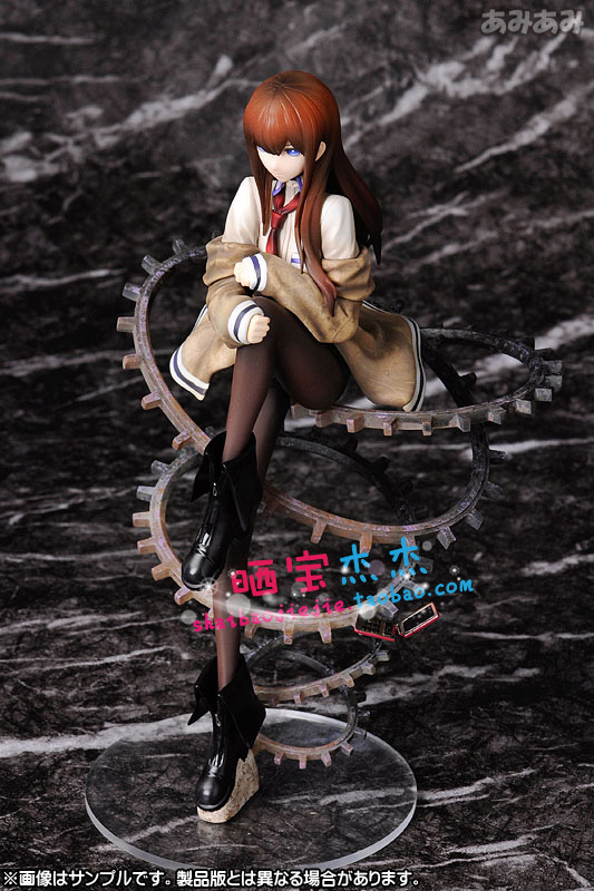 Free Shipping Cool 9 Steins Gate Makise Kurisu 1/8 Scale PVC Action Figure Collection Model Toy Christmas Gifts SG014 japanese anime cartoon bleach nelliel tu odelschw 1 8 scale art figure 21cm for christmas gifts free shipping blfg001