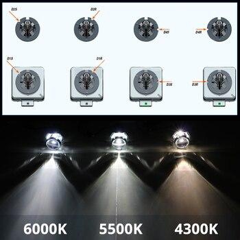 SHUOKE Bi xenon hid headlight bulb kit D1S D1R D2S D2R D3S D3R D4S D4R D5S D8S 12V 25W 35W 4300K 5000K 6000K 2 pcs Free Shipping aslent d1s d2s d3s d4s hid bulb cbi hid xenon headlight bulbs 12v 35w d1r d2r d1c headlamp light 3000k 4300k 6000k 8000k 10000k
