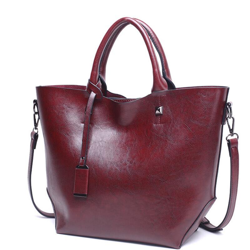 Damentaschen Einfach 2019 Neue Europäische Mode Handtasche Frauen Berühmte Marke Schulter Taschen Frauen Messenger Taschen Pu Leder Handtaschen Frauen Umhängetaschen