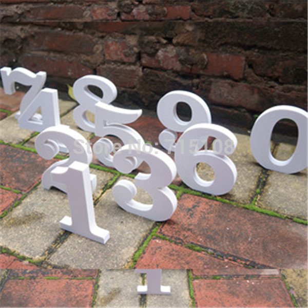 Decorative carft letters 0 9 a z christmas outdoor for 3d garden decoration