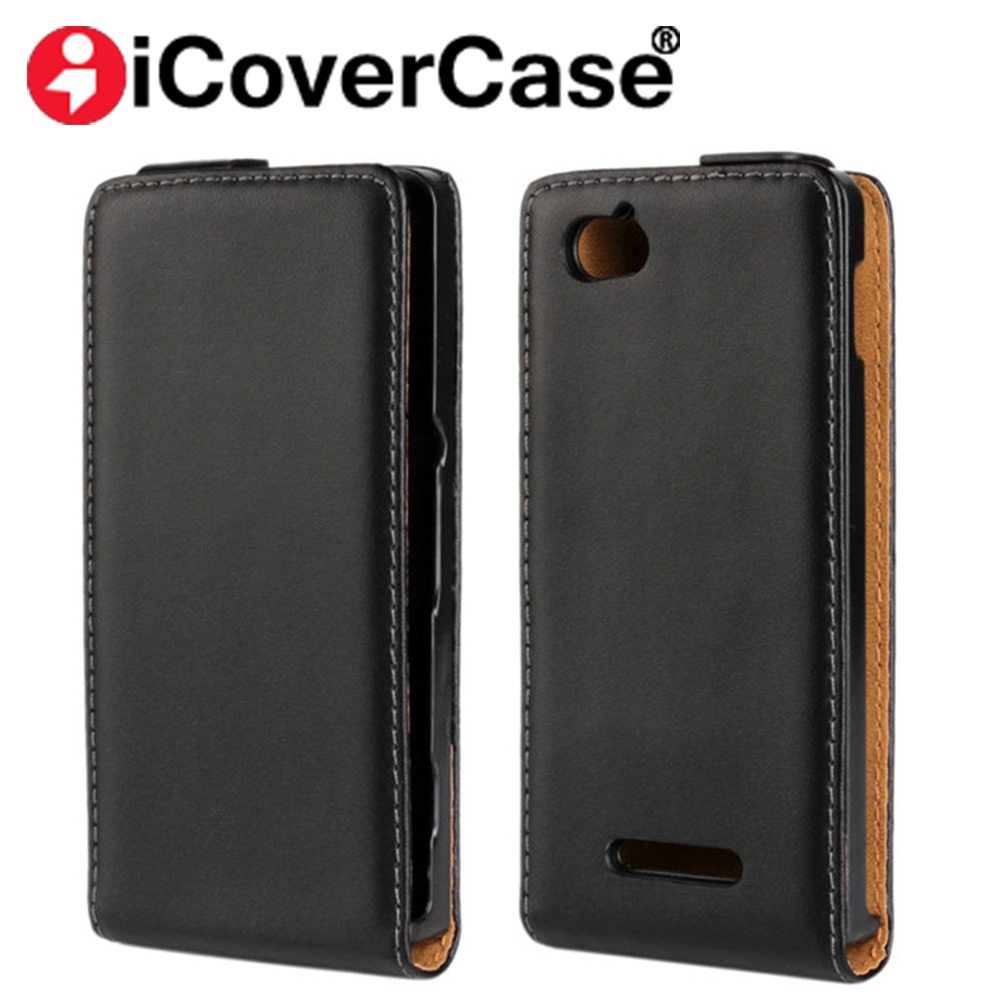 Luxury Magnet  PU Leather Flip Case For Sony Xperia M C1905 C1904 C2004  Phone Cover