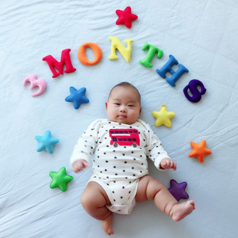 Happy Birthday Party Supplies Baby 100 Days / Months / 1