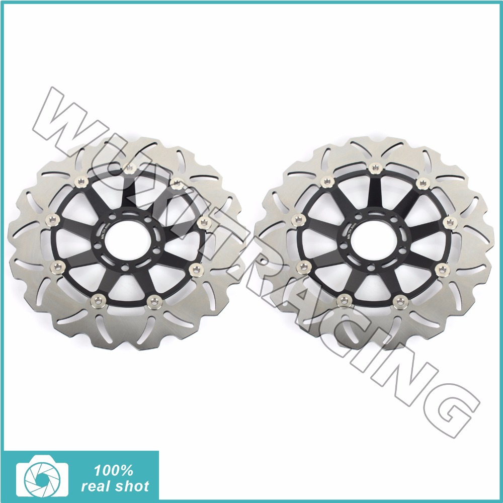 2Pcs 310mm Motorcycle New Front Brake Discs Rotors for