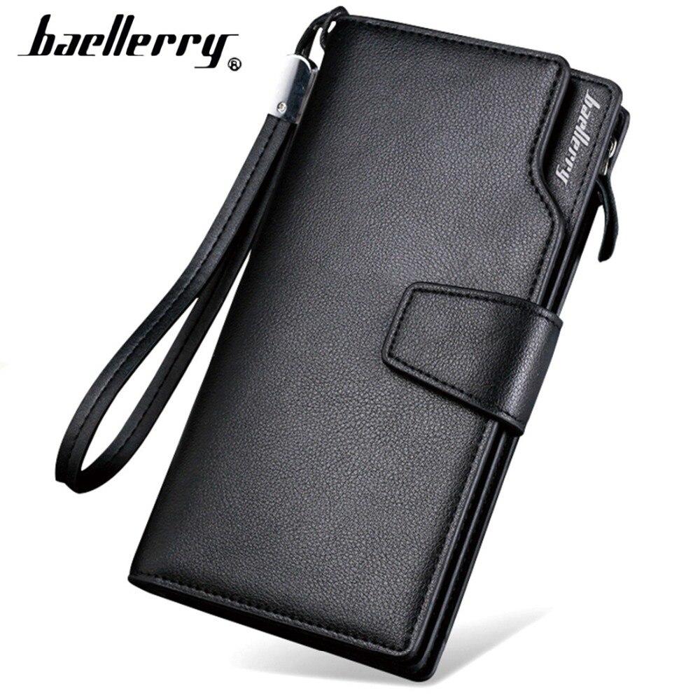 Herrenbekleidung & Zubehör Baellerry Retro Herren Brieftasche Business Freizeit Große Kapazität Handtasche Handy Multi Karte Handtasche Mann