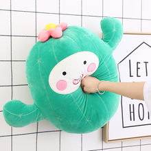 Creative cactus doll plush toy cute Korean pillow simulation ball cactus funny dolls for girls gifts 24inch 60cm(China)
