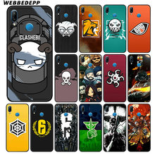 WEBBEDEPP Rainbow Six Siege 6 Soft Case For Huawei P30 P20 Pro P10 P9 Lite 2017 P Smart 2019 & Nova 3 3i Y9 2019(China)