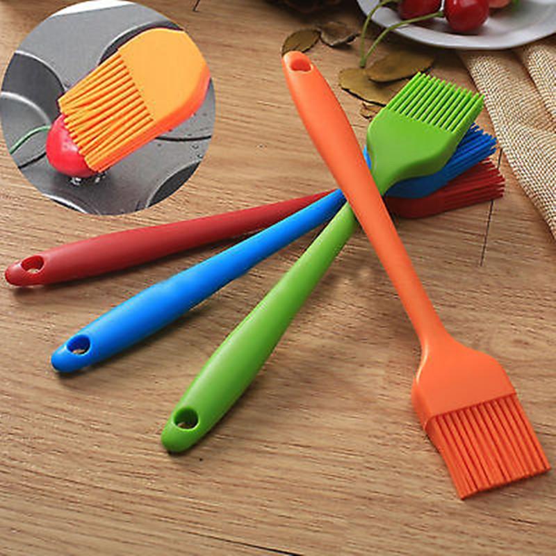 mantequilla pan de silicona hilvn cepillo barbacoa cepillo para hornear diy cocina utensilio para cocinar barbacoa