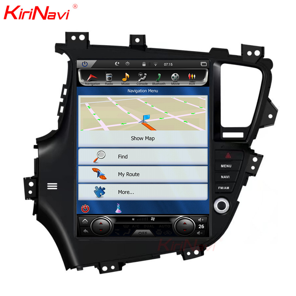 "KiriNavi 13 ""écran Android 7.1 pour Kia K5 Optima voiture DVD Radio Audio GPS Navigation moniteur multimédia jouer"