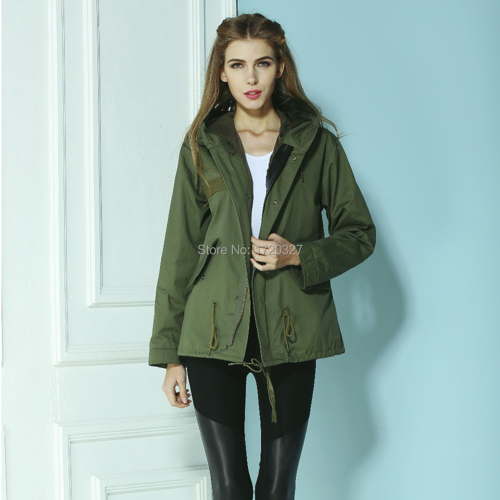 Girls Green Parka Jacket - My Jacket