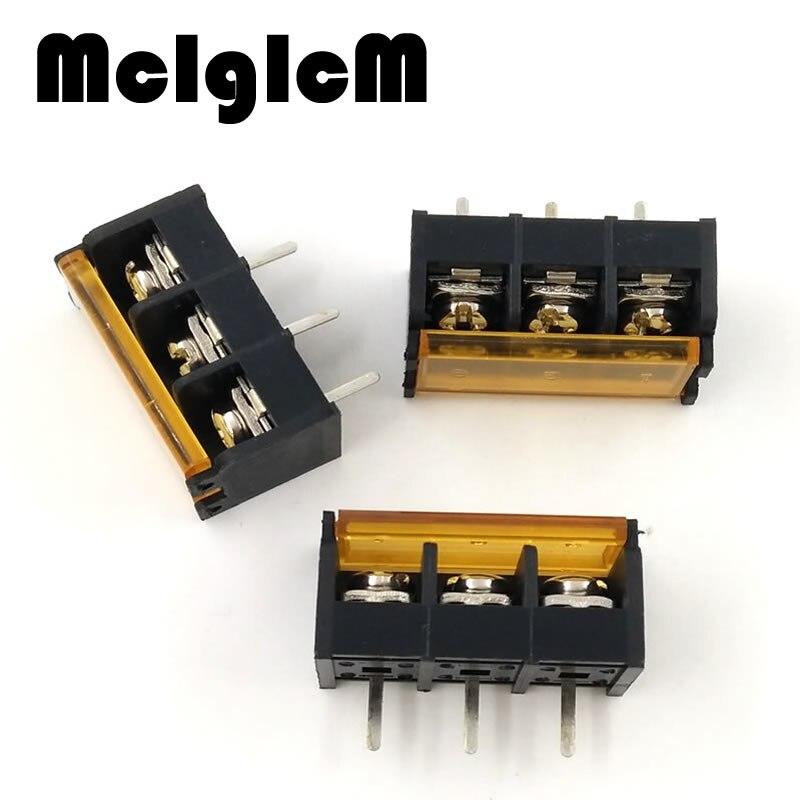 100pcs lot HB 9500 3 pins 3PIN lid Barrier Terminal 9 5MM high current connectors HB