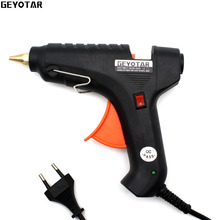 2017 New Sale Heat Gun 60w 110v 220v Professional Hot Melt Glue Gun Heating Craft Repair Tool With Free 1pcs 11mm Thermo Sticks