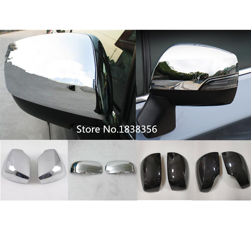 Lovely Capqx 2pcs For Honda Crv Cr-v 2012 2013 2014 Abs Chrome Rear View Rearview Side Mirror Cover Shell Cap Strip Stick Trim Panel Automobiles & Motorcycles