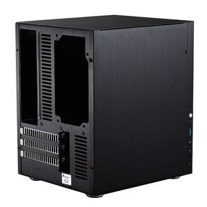 Image 4 - Jonsbo C2 Silver Aluminum Mini ITX MATX computer Case USB3.0  game small chassis  C2S Black HTPC ITX Case