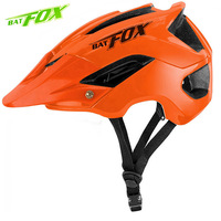 BAT FOX Cycling Helmet MTB Bicycle Helmet Men Professional Road Bike Helmet Women Ultralight Integrally molded Sport Fietshelm