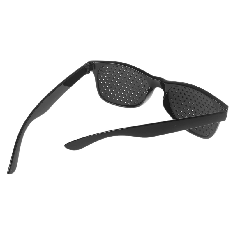 Image 4 - Vision Care Wearable Corrective Glasses Improver Stenopeic Pin Hole Glasses Anti fatigue Eye Protection Oculos De Grau hyq-in 3D Glasses/ Virtual Reality Glasses from Consumer Electronics