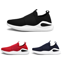 2019 New Arrival Men Sports Shoes Breathable Mesh Lightweight Casual  Sneakers for Spring