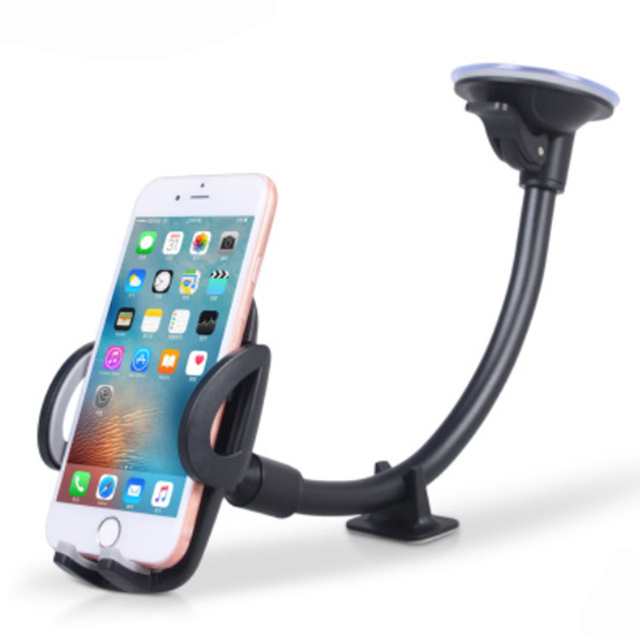 Luxury Long Arm Universal Mobile Cell Phone Car Holder